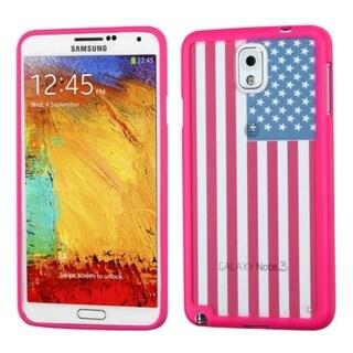 INSTEN Design Stiff TPU Gummy Candy Skin Phone Case Cover for Samsung Galaxy Note 3