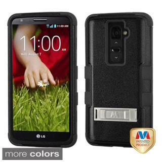 INSTEN High Impact Dual Layer Hybrid Phone Case Cover for LG G2 All Carriers