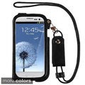 BasAcc Lanyard Stand Leather Case Cover Pouch for Samsung Galaxy S3