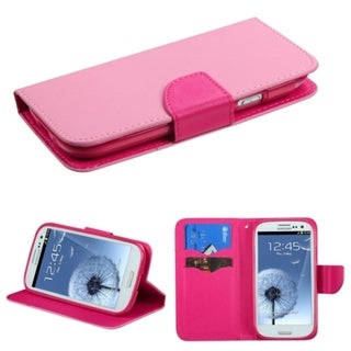 BasAcc Card Slots Colorful Book-style Leather Case for Samsung Galaxy S3