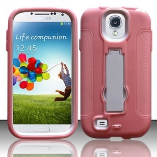 BasAcc High Impact Dual Layer Hybrid Case Cover for Samsung Galaxy S4