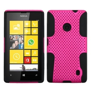 BasAcc High Impact Dual Layer Hybrid Case Cover for Nokia Lumia 520