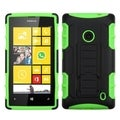 INSTEN High Impact Dual Layer Hybrid Phone Case Cover for Nokia Lumia 520