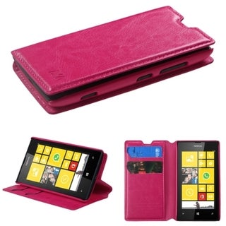 BasAcc Card Slots Colorful Book-style Leather Case for Nokia Lumia 521