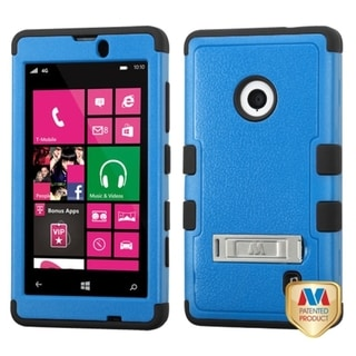 BasAcc High Impact Dual Layer Hybrid Case Cover for Nokia Lumia 521