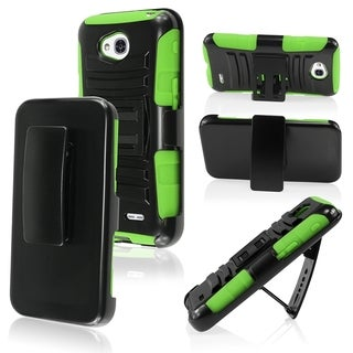 BasAcc High Impact Dual Layer Hybrid Case Cover for LG L70