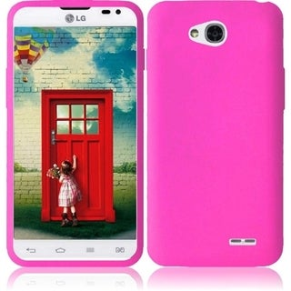 INSTEN Soft Siliocone Skin Phone Case Cover for LG L70