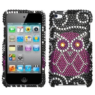 BasAcc 3D Diamante Bling Beads Protector Case Cover for Apple iPod touch 4th gen