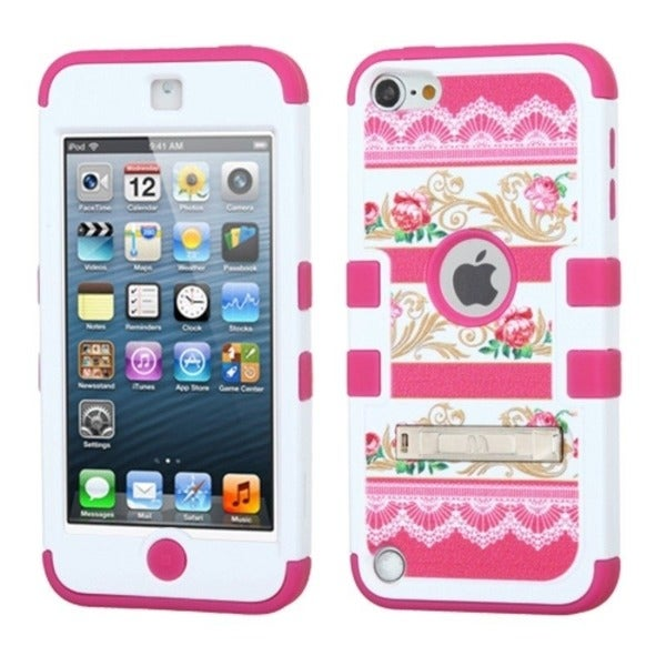 INSTEN High Impact Dual Layer Hybrid iPod Case Cover for Apple iPod touch 5th gen
