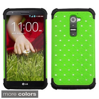 BasAcc High Impact Dual Layer Hybrid Case Cover for LG G2 D800 D801 LS980