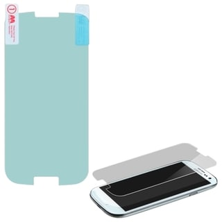 INSTEN Reinforced Hard Plastic Tempered Glass Screen Protector for Samsung Galaxy S3