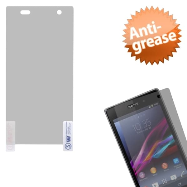 INSTEN Anti-grease/ Privacy Fliter/ Clear Screen Protector for Sony Xperia Z1S C6916