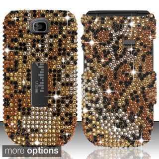 BasAcc Diamonds Beads Design Plastic Case Cover for Alcatel One Touch 768T