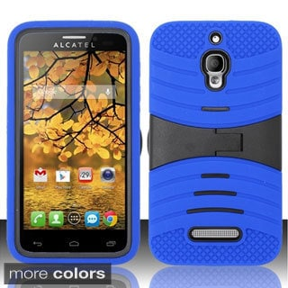 BasAcc Kickstand Dual Layer Hybrid Case Cover for Alcatel One Touch Fierce 7024T