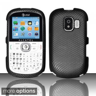 BasAcc Rubberized Hard Plastic Design Case Cover for Alcatel One Touch OT871A