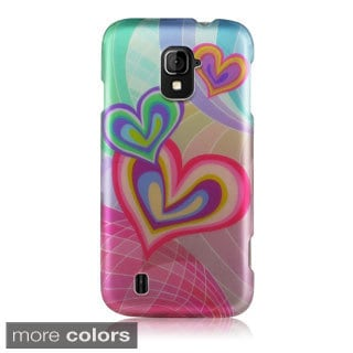 BasAcc Rubberized Hard Plastic Snap-on Case CoverZTE Majesty Z796c