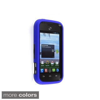 BasAcc Kickstand Dual Layer Plastic Hybrid Case Cover for ZTE Savvy Z750c