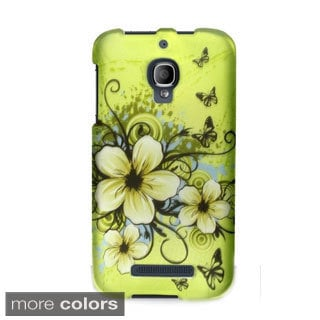 BasAcc Rubberized Plastic Design Case Cover for Alcatel One Touch Fierce 7024T