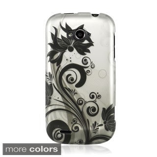 BasAcc Rubberized Hard Plastic Design Case Cover for ZTE Savvy Z750c