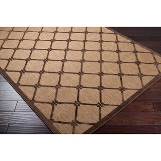 Meticulously Woven Patti Transitional Geometric Indoor/ Outdoor Area Rug (4'7 x 6'7)