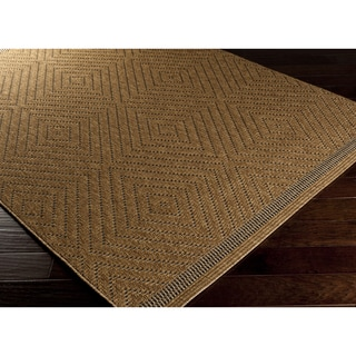Meticulously Woven Piper Geometric Indoor/ Outdoor Area Rug (3'11 x 5'7)
