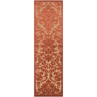 Meticulously Woven Daisy Transitional Floral Indoor/ Outdoor Area Rug (2'6 x 7'10)