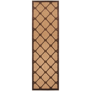 Meticulously Woven Patti Transitional Geometric Indoor/ Outdoor Area Rug (2'6 x 7'10)