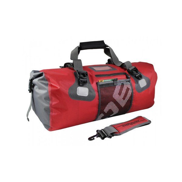 OverBoard 50 Liter Red Waterproof Ultra-Light Duffel Bag