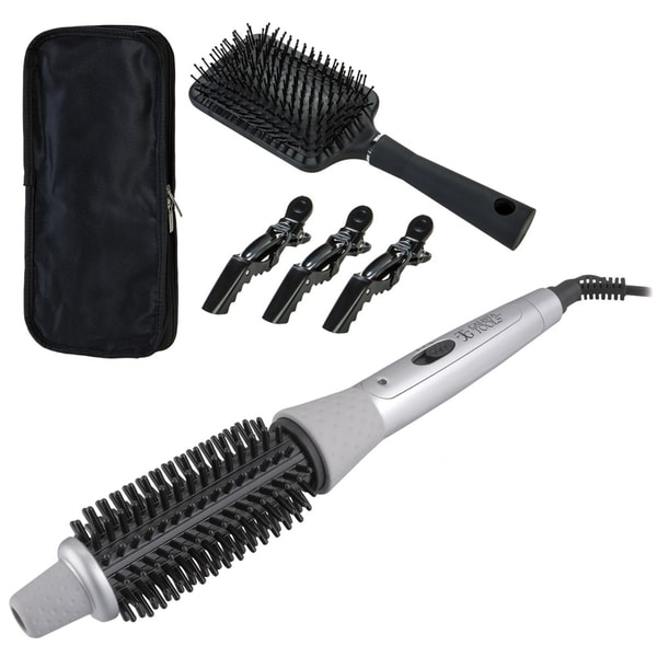 ... Heated Round Brush - Overstock™ Shopping - Top Rated Curling Irons