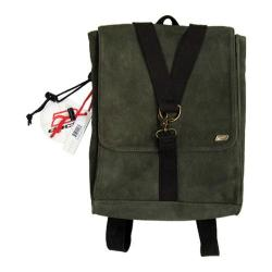 Ducti Ambush Hybrid Laptop Messenger/Backpack Green