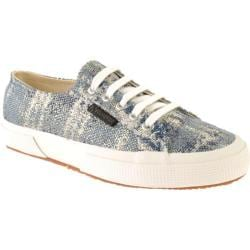Women's Superga 2750 MetallicotW Blue