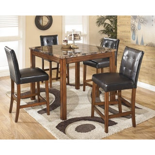Signature Design by Ashley Theo Square Counter Table Set