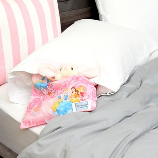 White/ Pink Princess Pocket Pall Pillowcase
