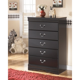 Signature Design by Ashley Huey Vineyard Black Five Drawer Chest