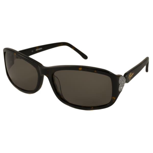 Harley Davidson Womens HDX808 Rectangular Sunglasses