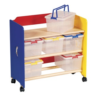 Moon and Stars 'See Store and Take Along' Rolling Storage Cart