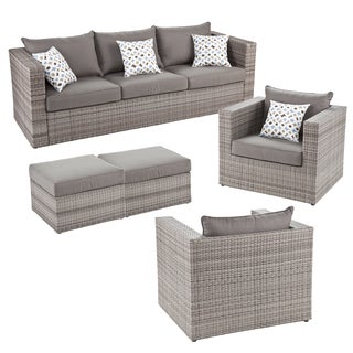 Upton Home Outdoor Wicker 5pc Set