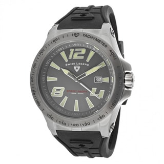 Swiss Legend Men's 'Sprint' Grey Silicone Watch