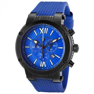 Swiss Legend Men's 'Legato' Blue Silicone Watch