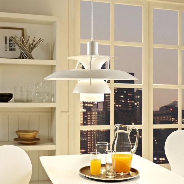 Guise Modern White 1-light Pendant Lamp
