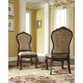 Signature Design by Ashley Wendlowe Dark Brown Dining Side Chair (Set of 2)