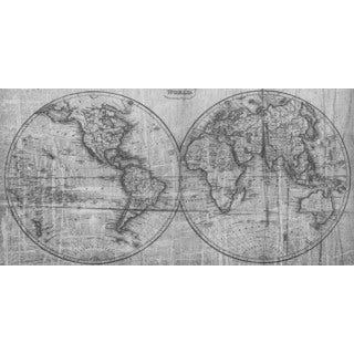 Marmont Hill Art Collective 'Double Globe' Canvas Art