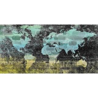 Marmont Hill Art Collective 'Aqua Midnight' Canvas Art