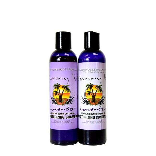 Sunny Isle Jamaican Black Castor Oil 8-ounce Shampoo & Conditioner Set