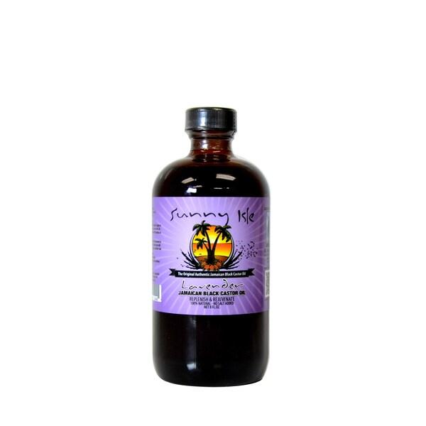 Sunny Isle Lavender Jamaican Black 8-ounce Castor Oil