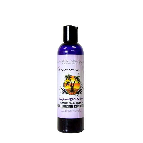 Sunny Isle Lavender Jamaican Black Castor Oil Natural 8-ounce Deep Conditioner
