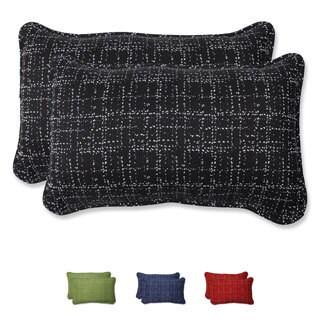Pillow Perfect Rectangular Throw Pillow with Bella-Dura Conran Fabric (Set of 2)