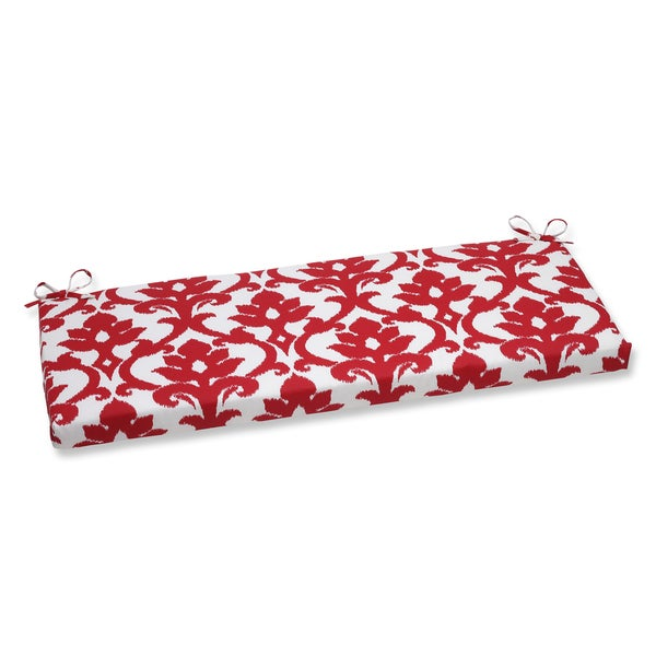 Pillow Perfect Outdoor Bosco Cherry Bench Cushion