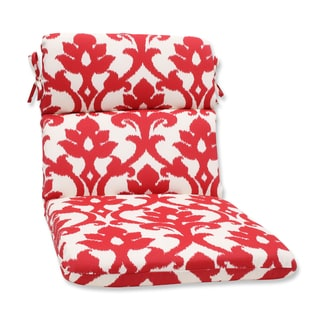 Pillow Perfect Outdoor Bosco Cherry Rounded Corners Chair Cushion