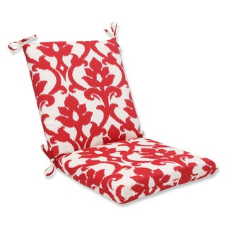 Pillow Perfect Outdoor Bosco Cherry Squared Corners Chair Cushion